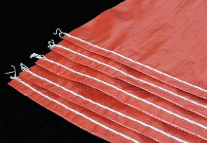 颜色编织袋底部细节